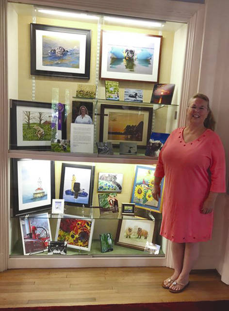 Provided photo There is still time to see works of art and photography by local artist, Theresa Smith at the Troy-Hayner Cultural Center. Guests have the opportunity to see the display through Oct. 14 at 301 W. Main St., Troy.