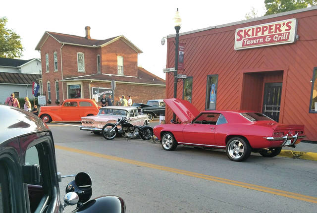 Provided photo The annual Fall Fling cruise-in has drawn hundreds of classic cars to downtown West Milton in previous years.