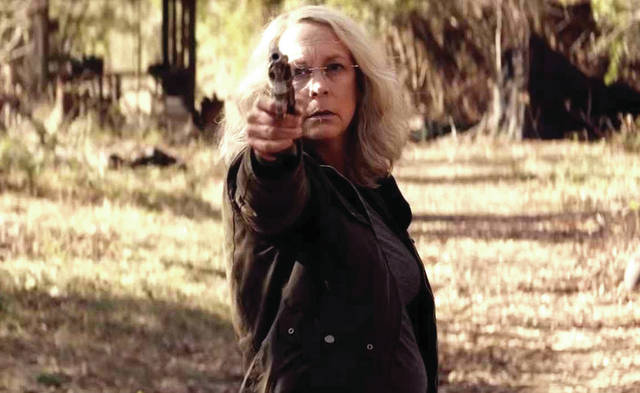 "Provided photo Laurie Strode prepares for an inevitable showdown in ""Halloween."""