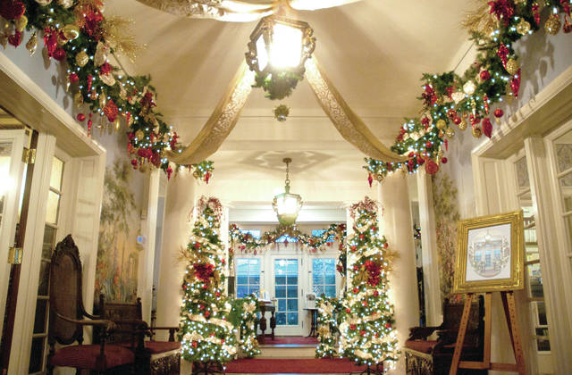 Provided photo The halls of the Troy-Hayner Cultural Center are always decked for its annual holiday open house. This year's event is set for Dec. 1-2.