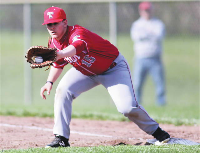 Lee Woolery | Miami Valley Today file photo Troy's Jakob Libecap recently signed his letter of intent to play baseball and attend school at Bluffton University.