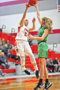 Trojans hold off Bees, 47-43