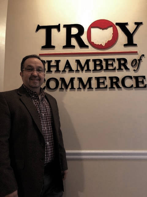 Joseph Graves is the new Troy Area Chamber of Commerce and vice president of Troy Development Council.