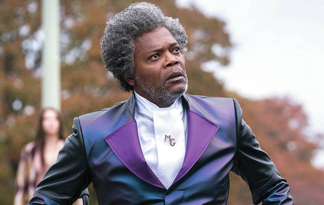 "Provided photo Samuel L. Jackson stars in ""Glass."""