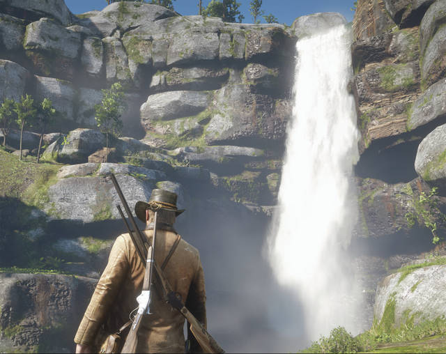 "Screenshot captured by Josh Brown ""Red Dead Redemption 2"" is easily the best-looking video game ever made. Nothing even comes close to its graphics. Add in one of the best narratives in gaming history and a wide-open world to explore with an insane amount of things to see and experience, and the choice for 2018's Game of the Year is an easy one."