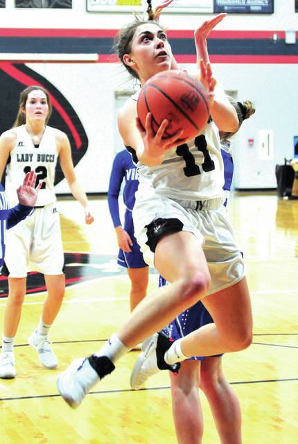 Mike Ullery|Miami Valley Today file Covington's Sammi Whiteman was named the Division IV All-Ohio Player of the Year when the All-Ohio teams were released Tuesday.