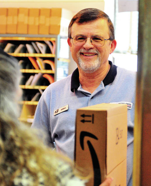 Mike Ullery | Miami Valley Today Steve P. Staley has been delivering smiles, as well as mail, to United States Postal Service customers for more than 40 years.