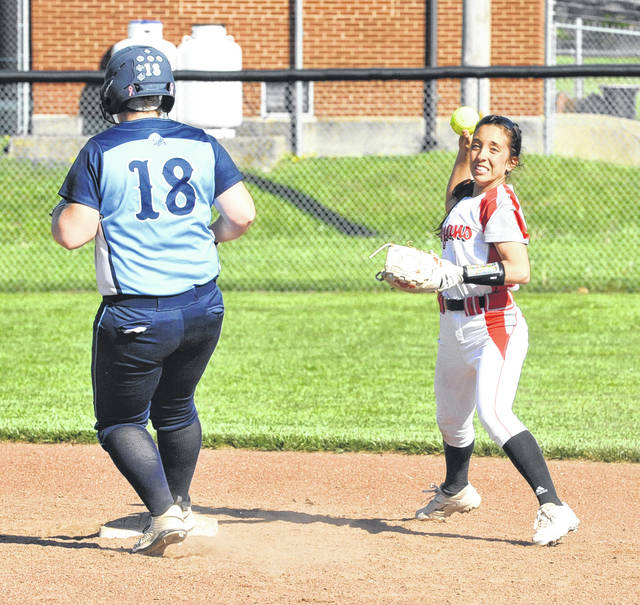 Josh Brown|Miami Valley Today file Troy second baseman Josie Rohlfs returns to anchor the Trojans' infield this season.