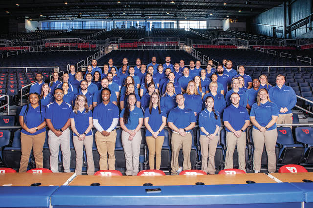 Provided photo Premier Health athletic trainers were recognized.