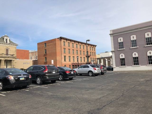 City Hall rents 38 spaces from FUMC each year. The pending agreement is for the city to pay $17,945 for 2019 and $19,740 per year for 2020-2023 to the First United Methodist Church for use of the First Place parking lot. The total for all five years is $96,905.