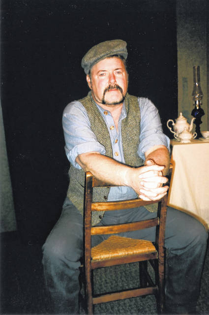Provided photo History interpreter and character actor Mike Follin will be coming to the Fort Piqua Plaza to tell the story of Shawn O'Shaughnessy, an Irish immigrant.