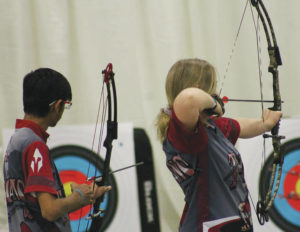 Troy archery teams qualify for nationals