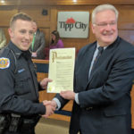 Officer of the Year honored