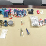 Two arrested for allegedly trafficking methamphetamine