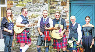 """Provided photo The Friends of the Piqua Public Library will present their second Library Lounge Series program for 2019, """"Everyone Can Be Irish,"""" with a performance by Celtic musicians Father Son and Friends at 7 p.m. Thursday, March 14, at the library, 116 W. High St., Piqua."""