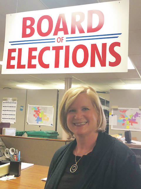 The Miami County Board of Elections hired Laura Bruns of Coldwater as the new director on Tuesday.