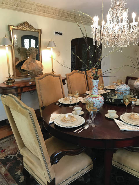 Provided photo Local designers, Sharon Bledsoe of Sharon Bledsoe Designs, and David Fair of David Fair Interiors, are two of the featured designers in the Dayton Philharmonic Designers' Show House and Gardens.
