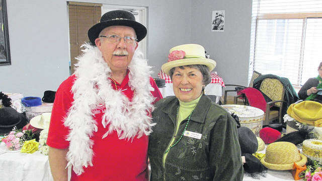 Provided photo Lions Club members Mel and Kathe Ward appropriately attired.