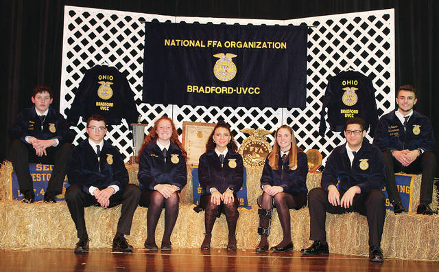 Provided photo Bradford-UVCC recently held its annual FFA banquet.