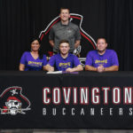 Covington's Martin signs to wrestle with Defiance College