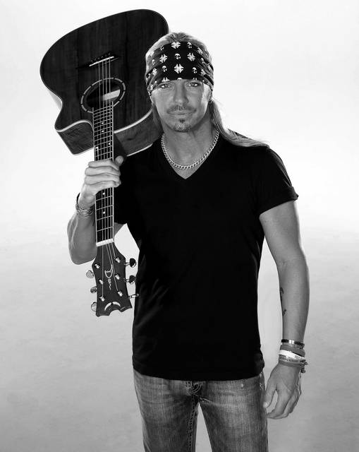 Provided photo Bret Michaels, along with Firehouse, will perform Sept. 14 at Hobart Arena in Troy. Tickets go on sale Thursday