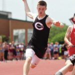 Newton's Stine advances in hurdles
