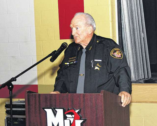 Provided photo Billie J. Rae was inducted into the Milton-Union Hall of Honor.