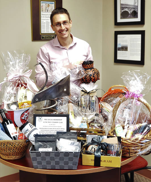 Provided photo Justin Coby, executive director, reported there are currently 25 items able to be bid on now, including trips, local experiences, and, new to this year's event, a wide variety of basket packages that will appeal to all different tastes.