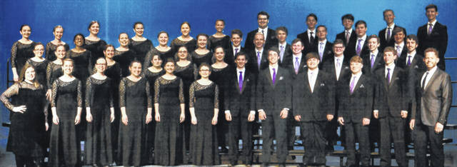 Provided photo The Logan High School Chamber Singers will give a concert at 7 p.m. on June 10 at First Place at Troy First United Methodist Church, located at 110 W. Franklin St. in Troy.
