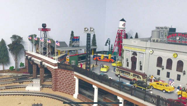 Provided art The Piqua Arts Council will be hosting a Model Trains & Train Artwork exhibition from May 13-24 with an opening reception on May 10 from 5-9 p.m.