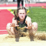 Magoteaux keeps shoes on at D-III district track meet