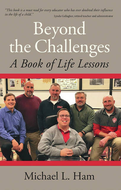 "Provied photo Troy High School graduate Michael Ham will be signing copies of his book, ""Beyond the Challenges: A Book of Life Lessons"" from 3-7 p.m. Friday in the Troy High School commons area."