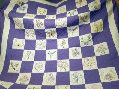 Provided photo This year's quilt raised $400 for the Tipp City Senior Citizens.