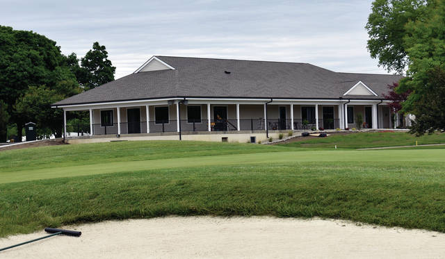 The new $1.2 million clubhouse at Miami Shores Golf Course is nearing completion and ready for occupancy. An open house is planned for June 18.