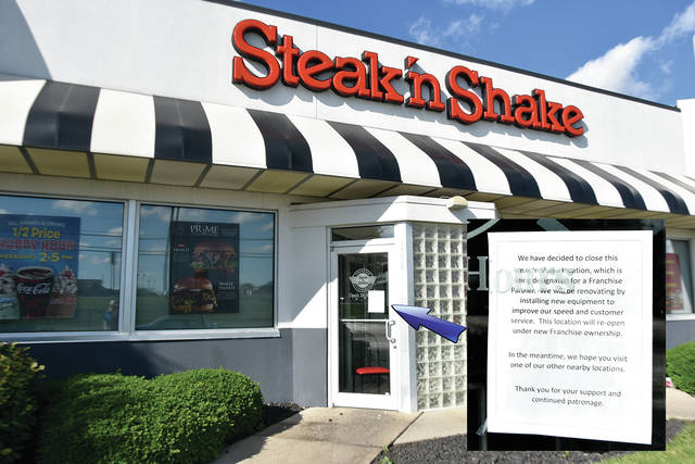 The Troy Steak 'n Shake restaurant is closed for business, again. Signs on the front doors indicate that they intend to reopen at a future date.
