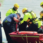 River rescue on Great Miami River