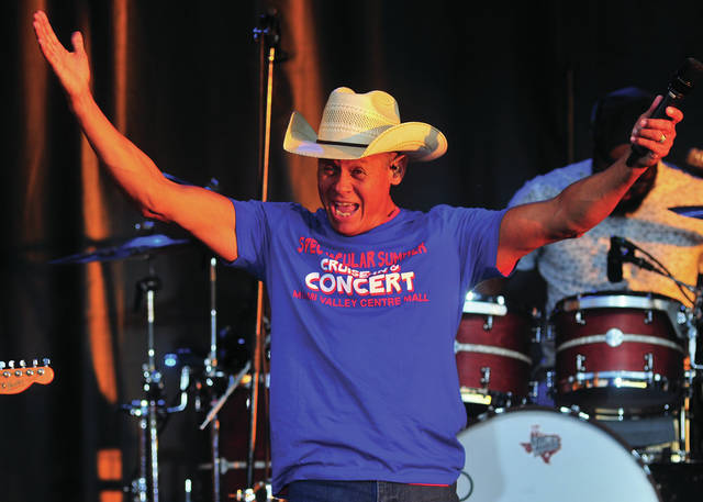 Country star Neil McCoy entertains as headline act at the Miami Valley Centre Mall's Spectacular Summer Cruise-In Concert in Piqua on Saturday. ©2019 Miami Valley Today. All rights reserved