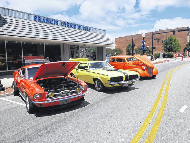 Provided photo The 4th Annual Rock 'N Roll Car Show will be held this weekend in conjunction with the kick off or Rock Piqua on Saturday, June 15.