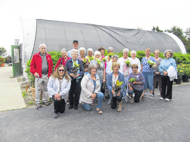 Provided photo  The Tipp City Garden Club members toured the Research Farm on June 4.