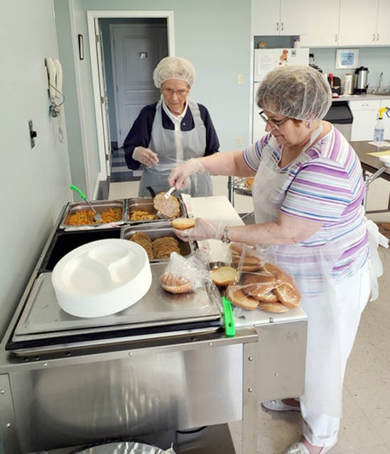 Provided photo The Tipp City Seniors Inc. serve lunch to more than 60 local residents on Monday, Wednesday and Fridays at 11:30 a.m. Call (937) 667-8865 for more information and to make a reservation.