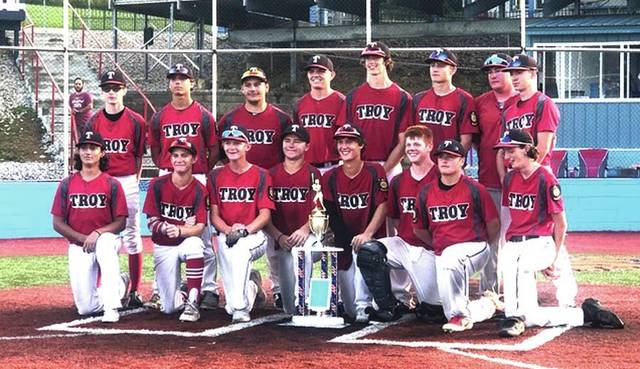 Photo Provided The Troy American Legion Post 43 Junior team won the Ohio American Legion State Junior tournament over the weekend in Lancaster.
