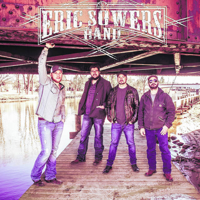 Provided photo The Eric Sowers Band will be performing at the next Rock Piqua Concert on Saturday, July 20, at 8 p.m. at Canal Place in Piqua.