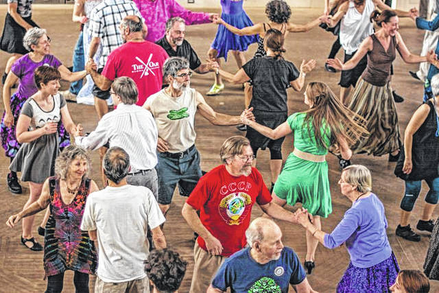 Courtesy photo A Contra Dance Party will be held in the Hayner Ballroom on Sept. 28 at the Troy-Hayner Cultural Center.