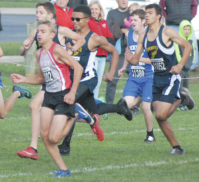David Fong|Miami Valley Today file Troy sophomore Braden Coate returns to the cross country team after a strong freshman season.