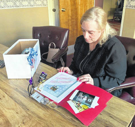 Christy Hilleary, of Troy, is working to keep her father's memory alive by continuing a project that was near and dear to his heart: providing reading glasses to veterans in need. Hilleary hopes to expand the project to help vets both locally and nationally.