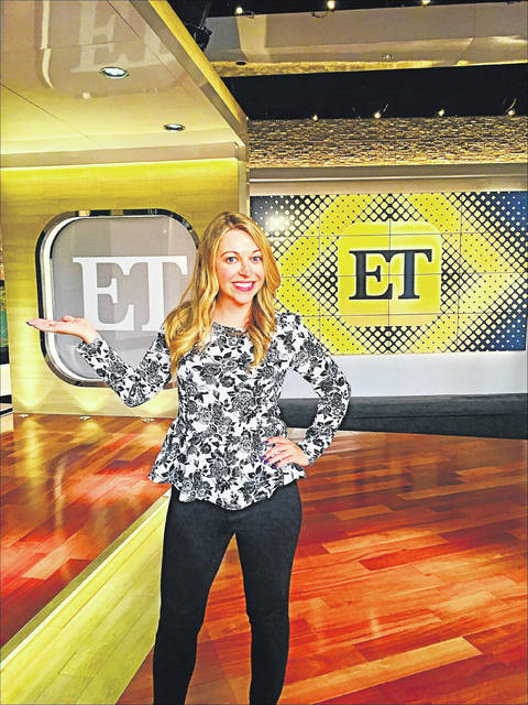 "Erin Johnson, a 2000 Sidney High School graduate, was named executive producer of ""Entertainment Tonight"" in June."