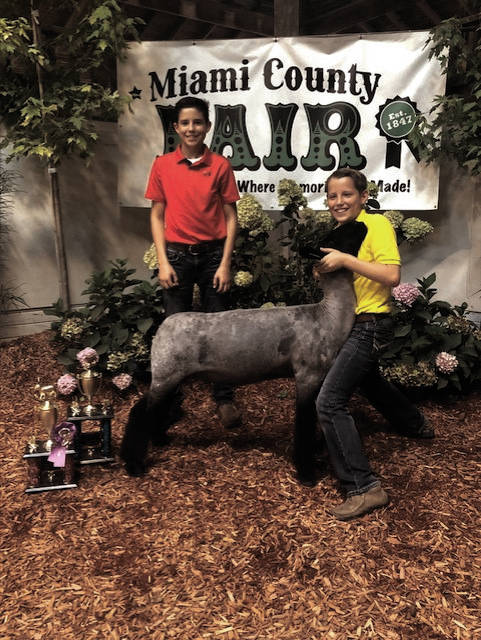 Brandon Stone, 12, of Troy, earned Grand Champion market lamb.