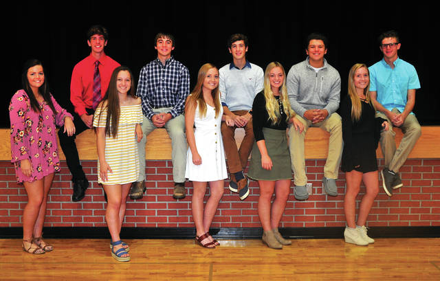 The Newton High School homecoming court has been announced. Candidates for homecoming queen include Brooke Deeter, Kaitlynn Stevenson, Kara Chaney, Kimberly Laughman, and Baily Chaney. King candidates are Cameron Stone, Curtis Shellenberger, Drew Bayer, Kleyson Wehrley, and Cameron Caldwell. Newton High School Homecoming is Friday. Events begin with a Homecoming parade at 6 p.m. and crowning at 6:30 p.m., followed by the varsity soccer game. The Homecoming dance will be held from 8-10 p.m. Saturday in the school cafeteria. ©2019 Miami Valley Today. All rights reserved.