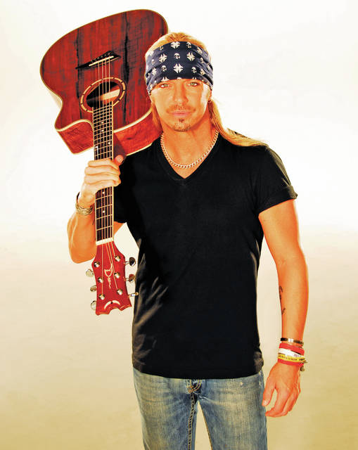 Courtesy photo Bret Michaels will visit Troy for the first time Sept. 14 when he brings his Unbroken World Tour to historic Hobart Arena. Special guest FireHouse is slated to open the show at 8 p.m.