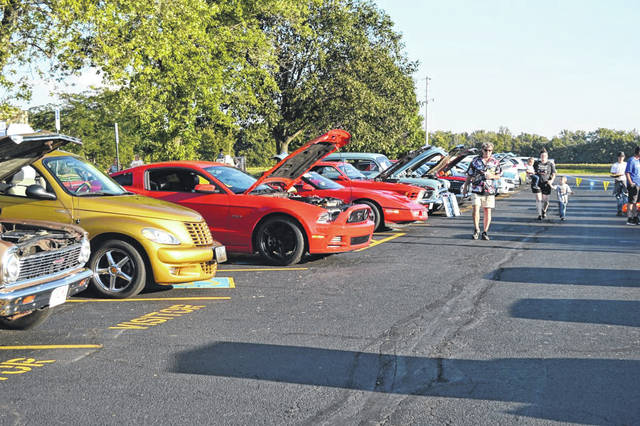 Provided photo The public is welcome to attend the Cruise-In for Suicide Prevention on Friday, Sept. 27 at Miami East High School. At the 2018 Cruise-In, over 60 cars, trucks, and tractors participated.